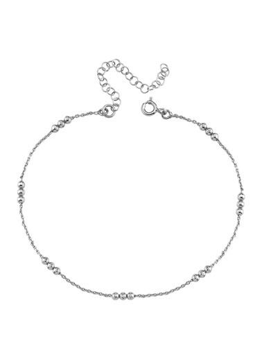 Bendis Design Üçlü Toplu Zincir  Halhal Gümüş